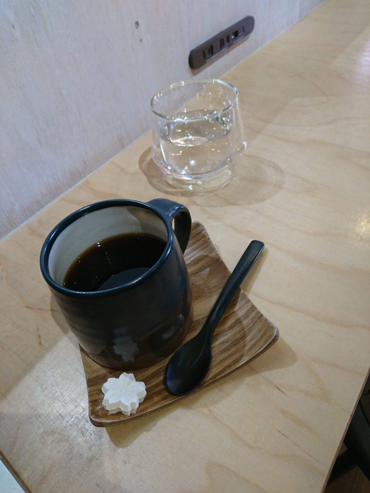 壱参伍のコーヒー