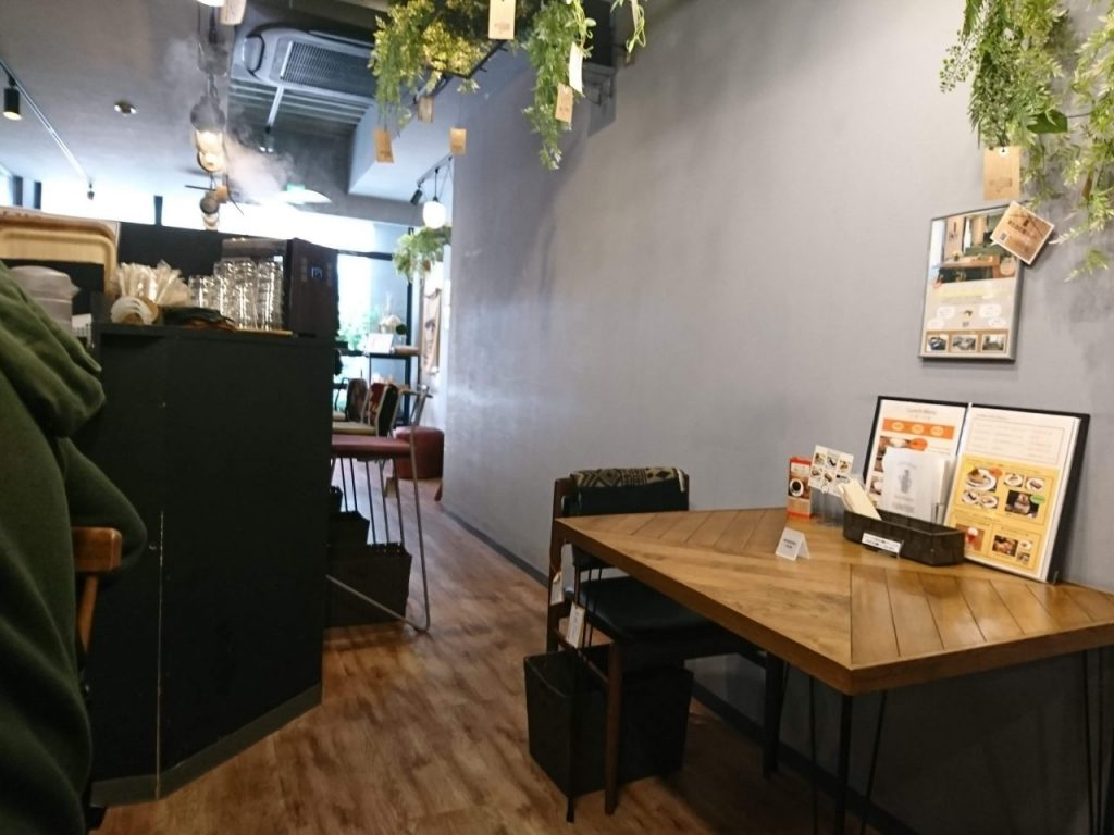 wood good brothers 店内の様子