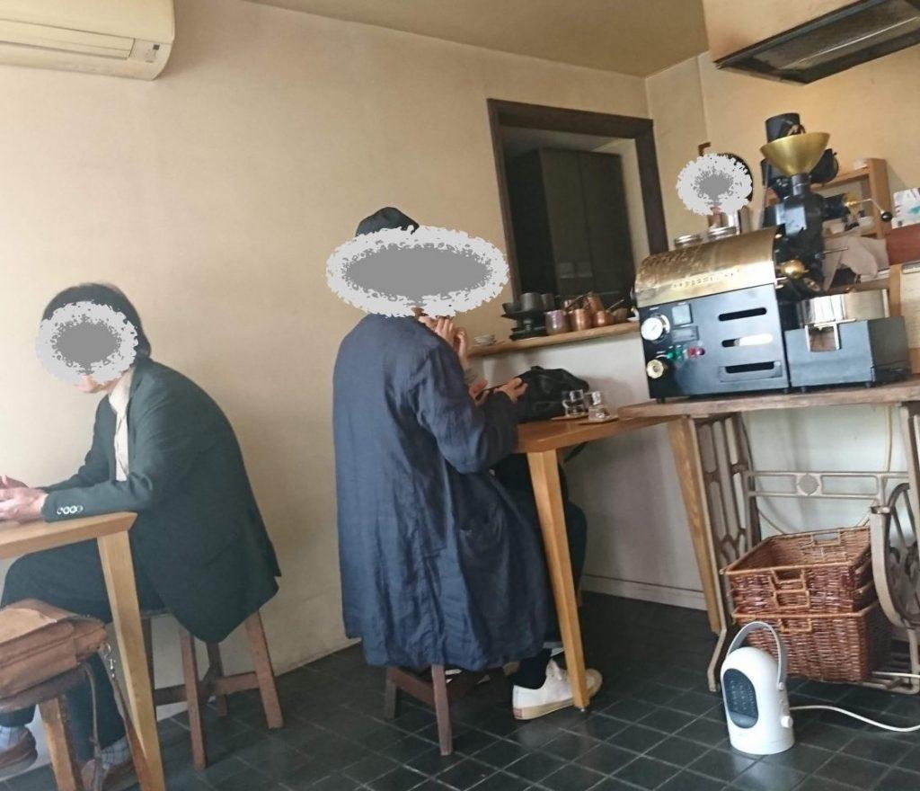 ブネイコーヒーの店内